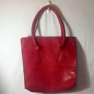[Elizabeth Arden] tote bag red laptop work school
